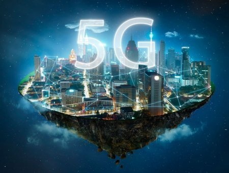 The future takes off with 5G technology.